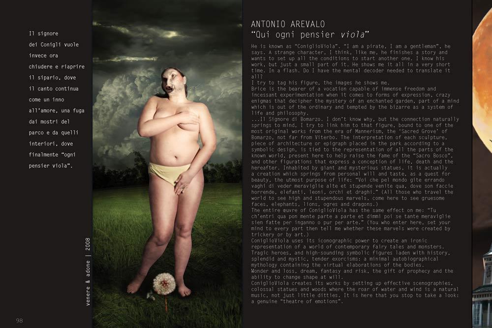 Antonio Arevalo – Qui ogni pensier viola